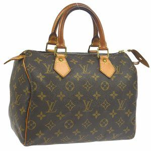 Louis Vuitton Speedy 25 Hand Bag #6644L39B